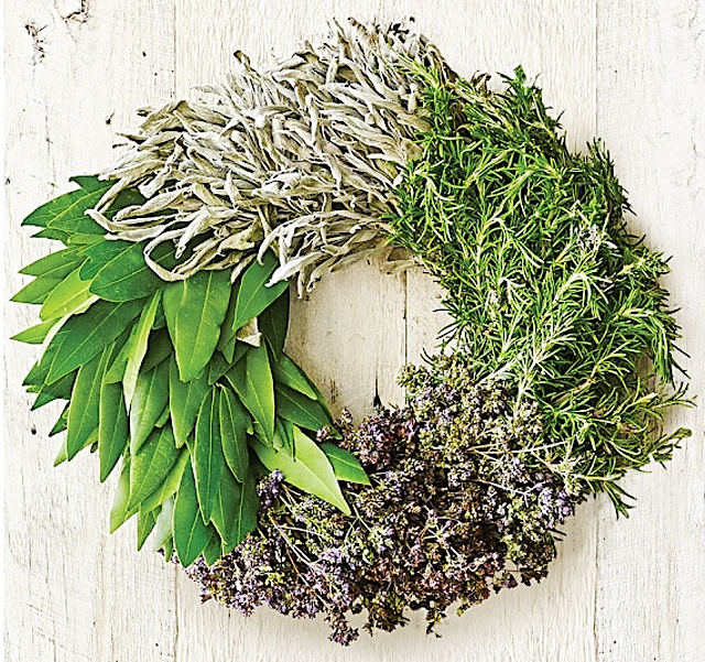 Nell Herb Wreath