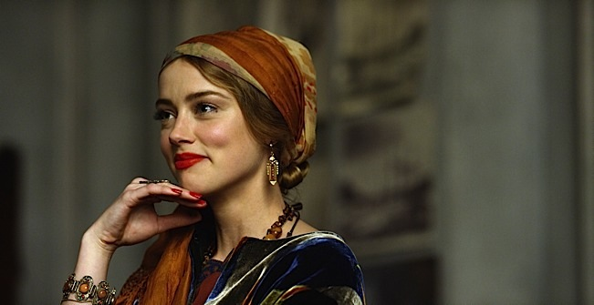 Amber Heard stars as Ulla in Tom Hooper's THE DANISH GIRL, released by Focus Features. Photo courtesy of Focus Features.