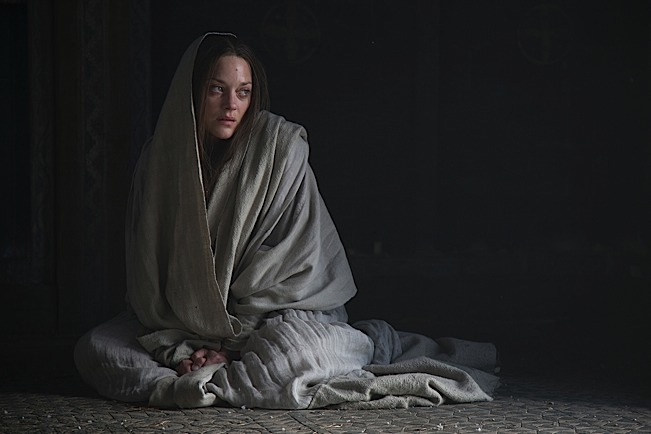 MARION COTILLARD stars in MACBETH. Photo courtesy of The Weinstein Company.