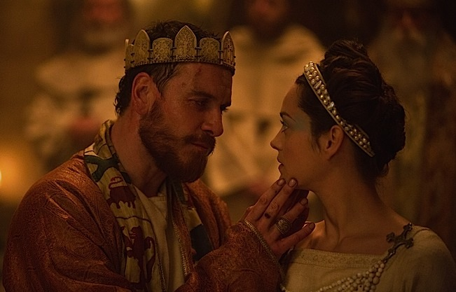 (L-R) MICHAEL FASSBENDER and MARION COTILLARD star in MACBETH. Photo courtesy of The Weinstein Company.