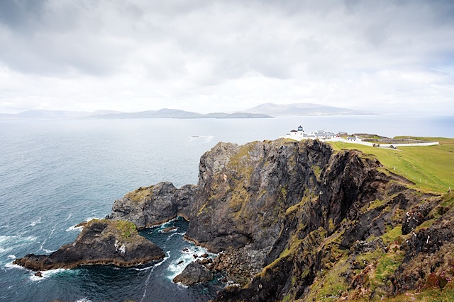 Bay Coast Clare Island Lighthouse Cliffs and Lighthouse. Photo by Kelvin Gillmor