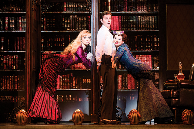 A Gentleman's Guide to Love & Murder. Photo by Joan Marcus
