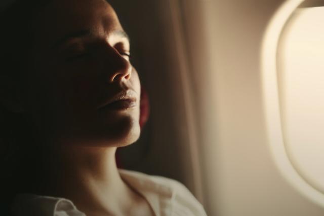 Woman Airplane