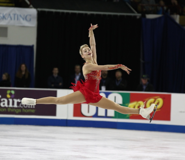 Gracie Gold Photo courtesy of U.S. Figure Skating