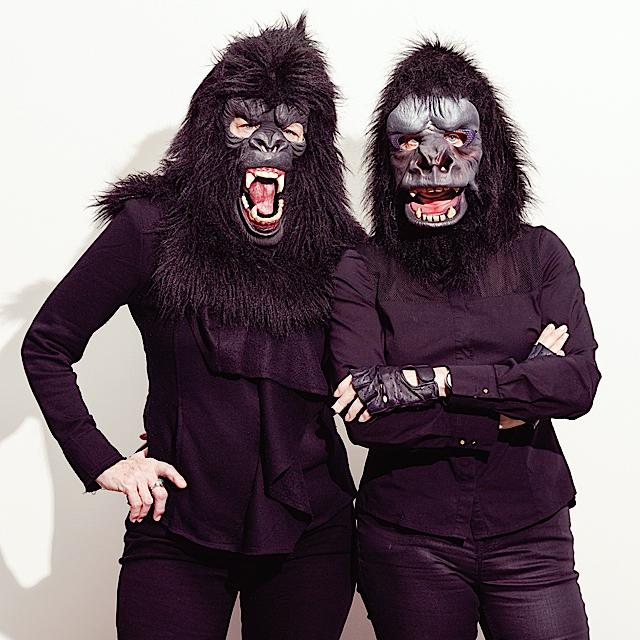 Guerrilla Girls. Photo by Gene Pittman courtesy Walker Art Center