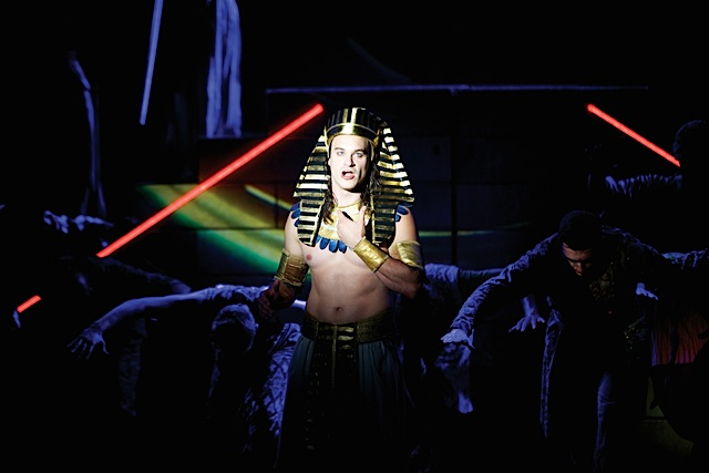 Joseph and the Amazing Technicolor Dreamcoat. Photo by Daniel A. Swalec