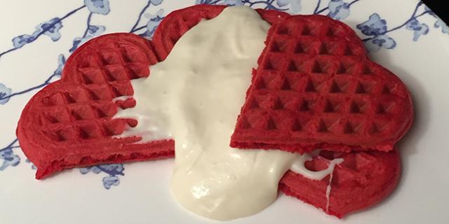 Red Velvet Waffle