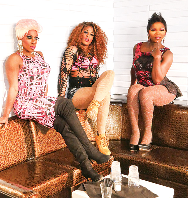 From left: Kamaree Williams, Phaedra Simone, Belize Rodgers. Photo by Andy Lien