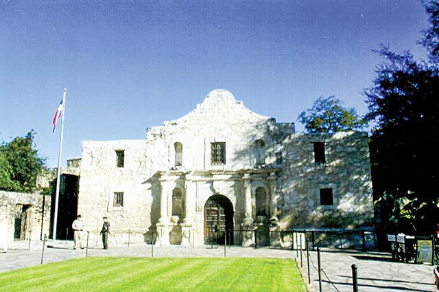 The Alamo, in downtown San Antonio