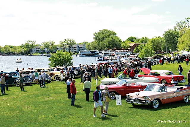 10,000 Lakes Concours d'Elegance . Photo courtesy of 10,000 Lakes Concours d'Elegance