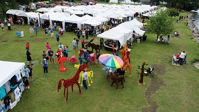36th Annual Art on The Lake. Photo by Marnie Swenson, MJFotography, Inc.