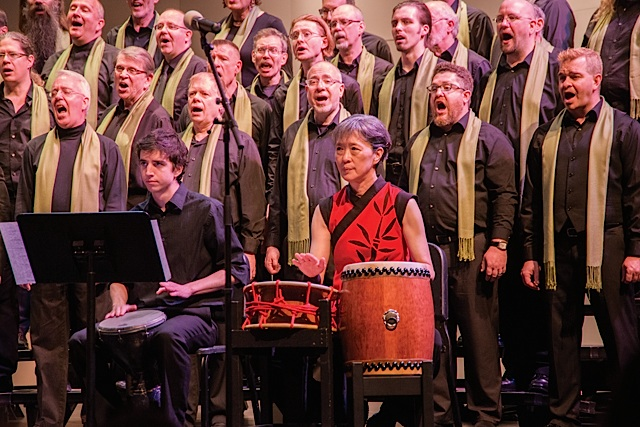 One Voice Mixed Chorus. Photo by Brent Dundore