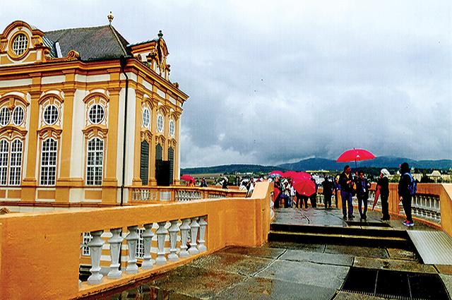 Melk Abbey, Austria. Photos by Carla Waldemar