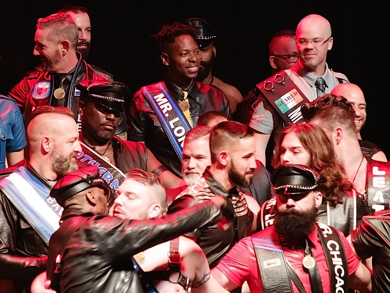 Another group of IML 2016 contestants onstage at Friday night's opening ceremonies. Photo by Steve Lenius.