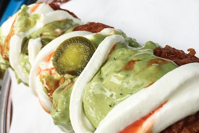 Eat the Menu Deep Fried Nachos Supreme