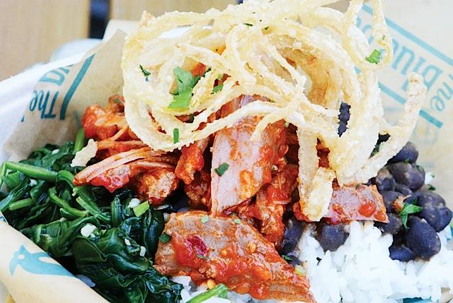 Eat the Menu Spicy Pork Bowl