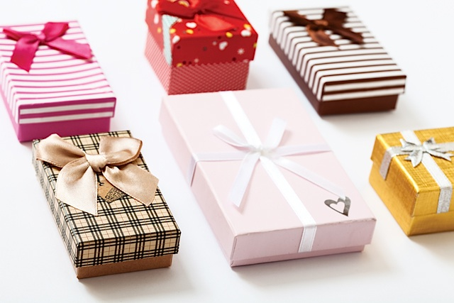 Etiquette Q&A bigstock-Gift-boxes-on-white-background-120524936 Copyright  Rustle