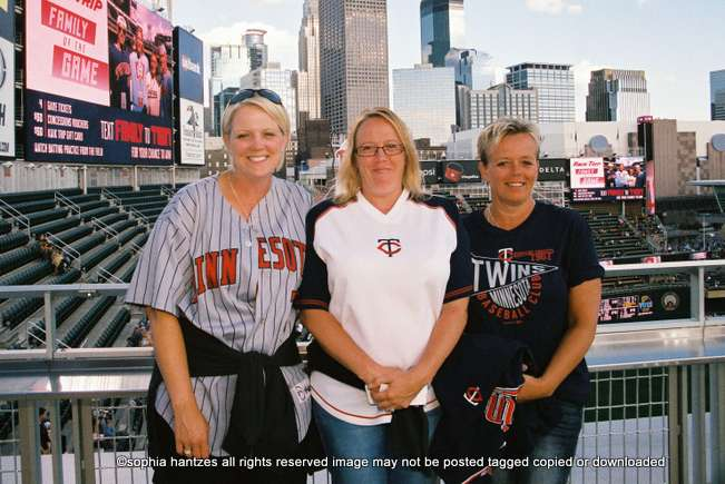 07.15.16 Lavender's Out In The Stands: Minnesota Twins 2 Cleveland Indians 5 Minneapolis MN