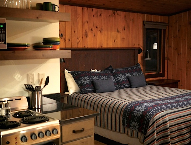 Breezy Point Cabin interior