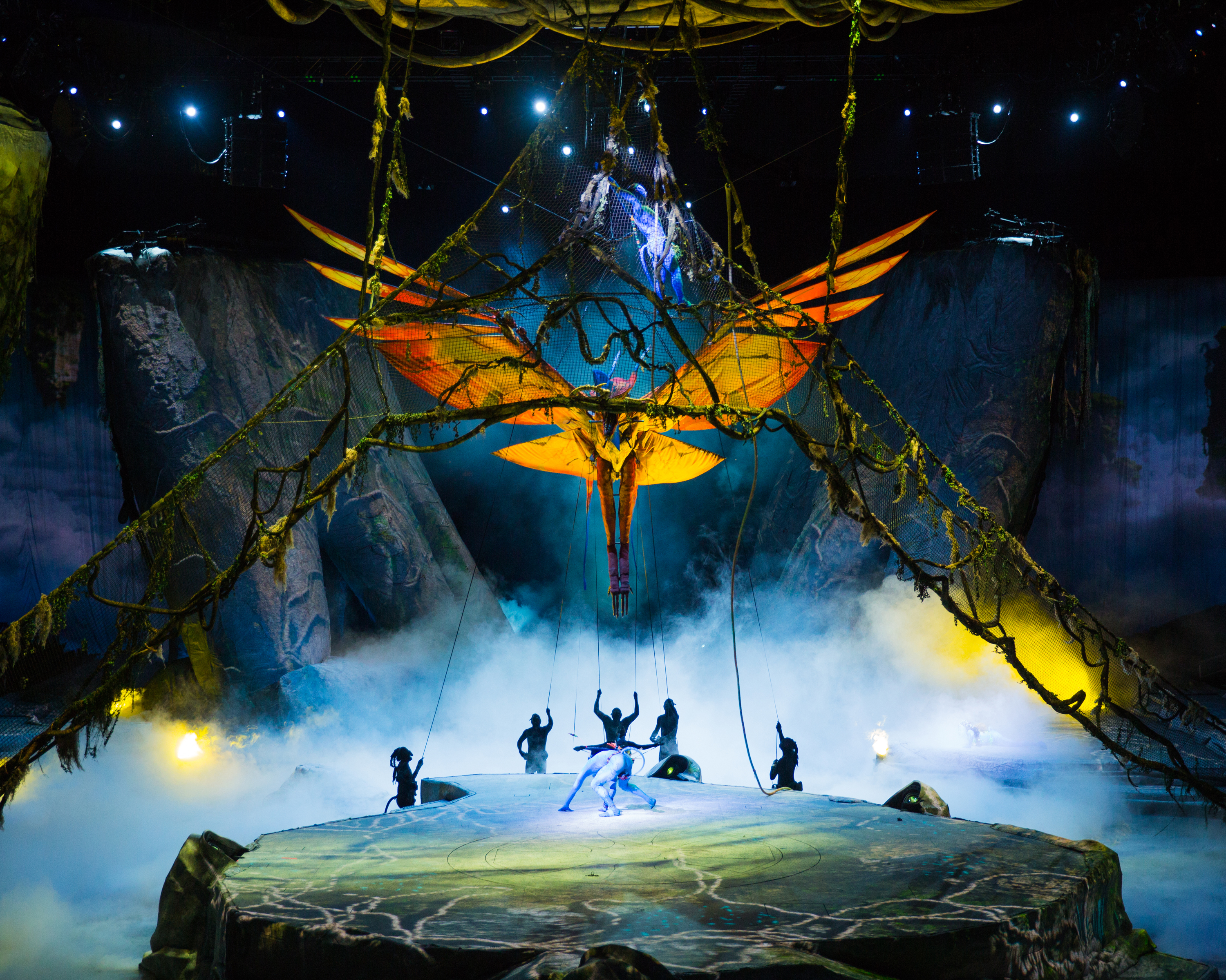 5Q: Cirque du Soleil's 'Toruk — The First Flight'