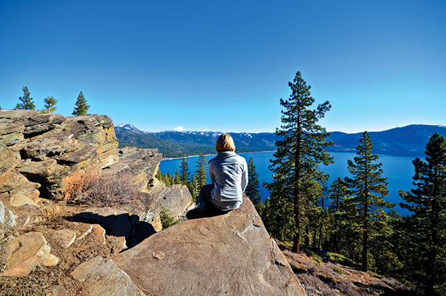 Lake Tahoe. Photo by Jared Kamrowski