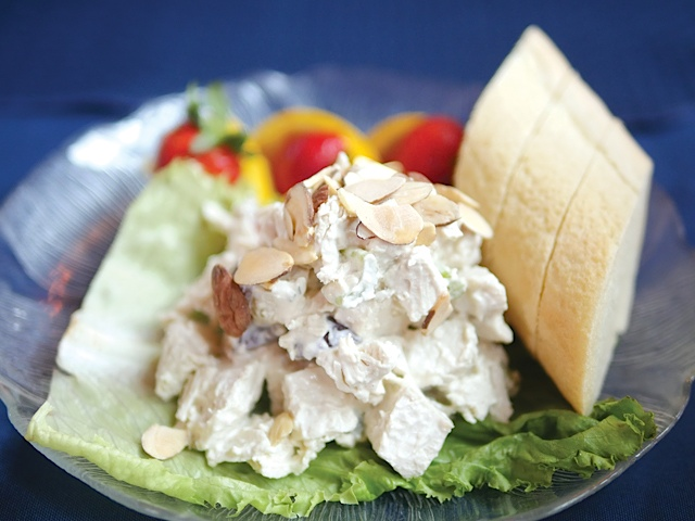 Naniboujou Chicken Salad.