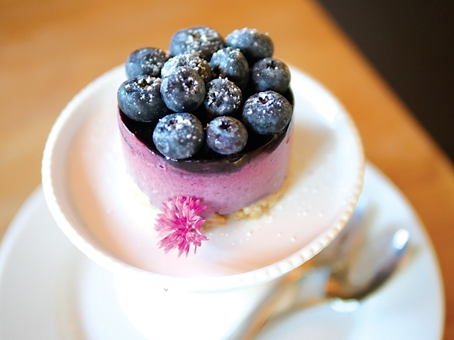 Huckleberry Mousse, New Scenic Cafe.