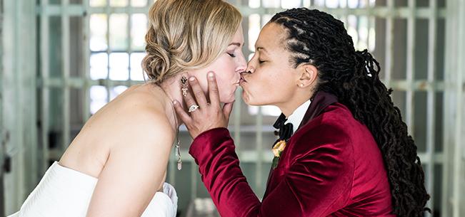 Adding Some Sparkle: Celebrating Alisha and Kata's Wedding