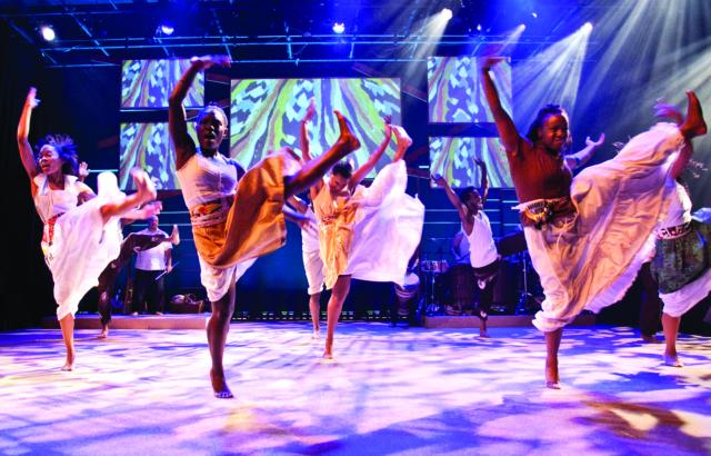Step Afrika! Photo by Meredith Hanafi