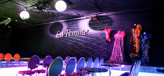 Barometer: Gay 90's Hosts Gala Grand Opening of New La Femme Show Lounge