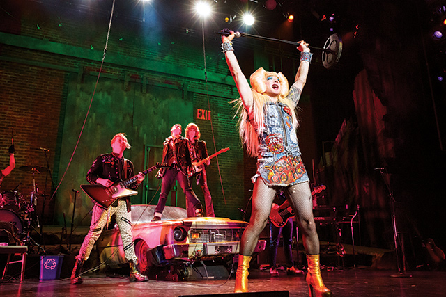 Hedwig And The Angry Inch. Photo by Joan Marcus
