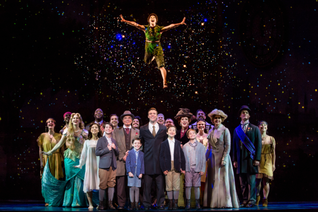 The cast of Finding Neverland Photo by Jeremy Daniel