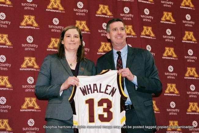 04.13.18  WNBA Minnesota Lynx Guard Lindsay Whalen Named Head Coach of the University Minnesota Golden Gophers Women's Basketball Team Minneapolis MN