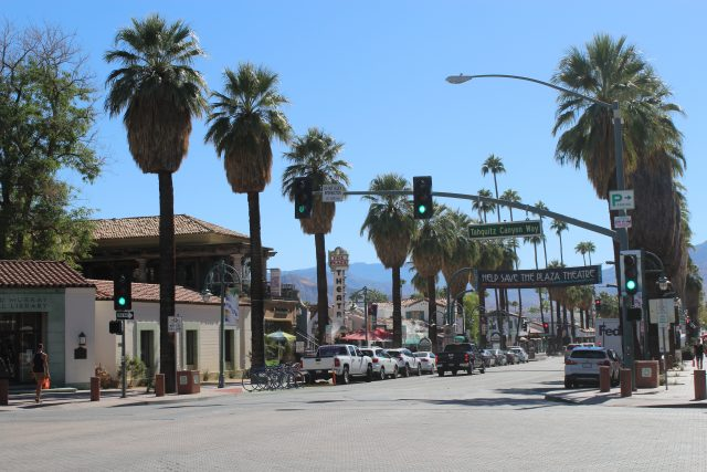 Palm Canyon Drive is the veritable main street of downtown Palm Springs
