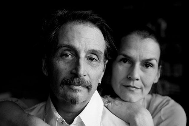 Stephen Vincent (L) and Catherine Lehman (R). Photo courtesy Stephen Vincent Designs