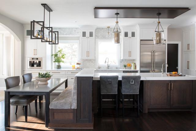 Mingle offers kitchen and bath design, and interior design. Photo courtesy of Studio M Kitchen & Bath