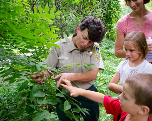 Linda Radimecky is an interpretive naturalist for the Minnesota Department of Natural Resources. Photo by Deborah Rose