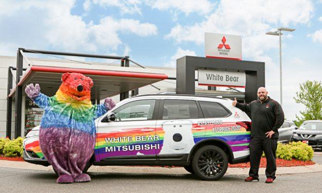 On The Cover: White Bear Mitsubishi
