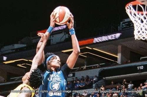07.26.20  WNBA Minnesota Player Sylvia Fowles Closer to All-TIme Rebound Record in Minnesota Lynx Win Over the Connecticut Sun 77-69  Bradenton FL