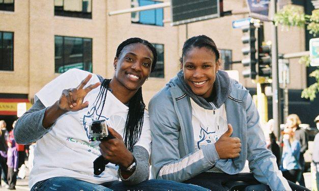 07.28.20 WNBA Minnesota Lynx Player Sylvia Fowles sets WNBA Record with 3,357 Career Rebounds Bradenton FL