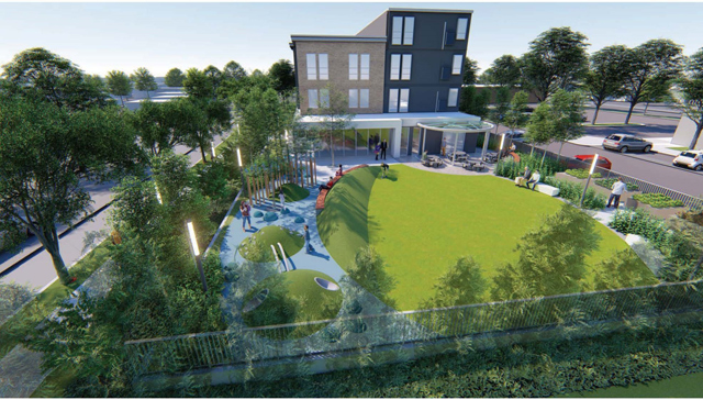 Architectural-rendering-of-Bloom-Lake-Flats-from-the-corner-of-Bloomington-Ave-and-Lake-Street.-Copyright-2020-Project-for-Pride-in-Living-&-MSR-Design