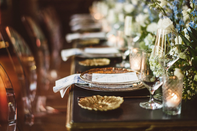 Table setting. Photo by Lucas Botz