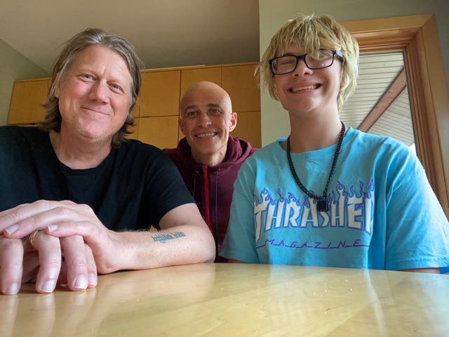 Tom Ewald and Joe Thom of Golden Valley started the adoption process in 2014. Their son, Jonathon, is now 16