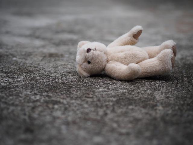 bigstock-Teddy-Bear-Is-Laying-Down-On-T-239944756