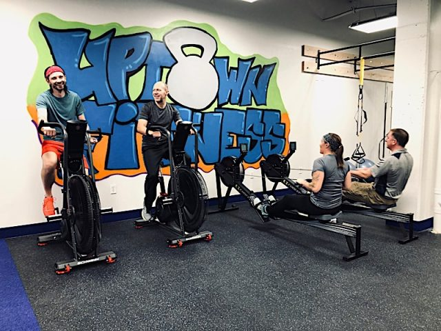 Photo courtesy of Andy Gunsaullus, Director of Personal Training/Owner, Uptown Fitness.