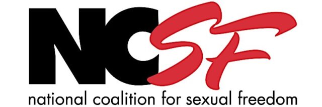 Logo courtesy of National Coalition for Sexual Freedom