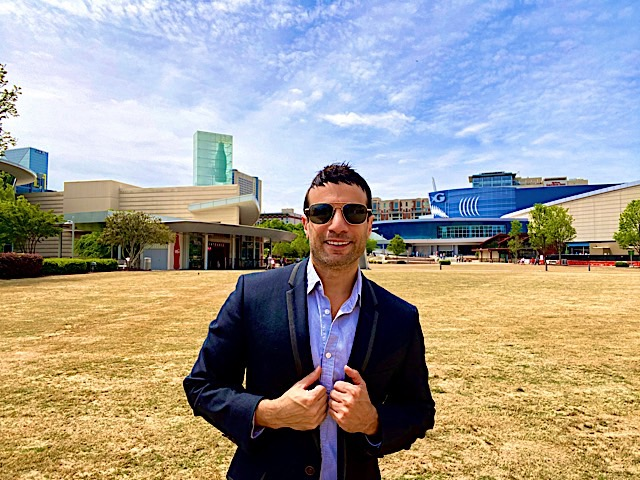 Joey at World of Coca Cola and Georgia Aquarium. Photo courtesy of Joey Amato.
