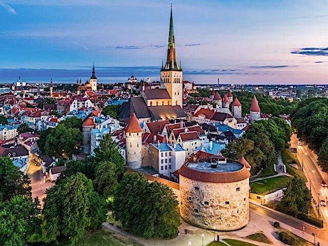 Old Town of Tallinn. Photo by Kaupo Kalda, courtesy of Visit Estonia.