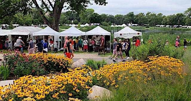 Photo courtesy of Loring Park Art Fair.