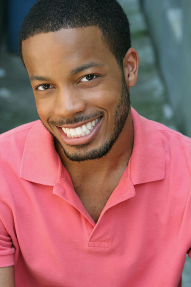 Headshot of Kyle Lamar Mitchell, who plays King Agnarr in the Frozen North American Tour
